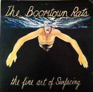 Boomtown Rats (The) - The Fine Art Of Surfacing (LP) (EX/VG-)